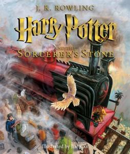 Harry Potter_capa ilustrada