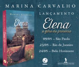 Lançamento Elena_Marina Carvalho