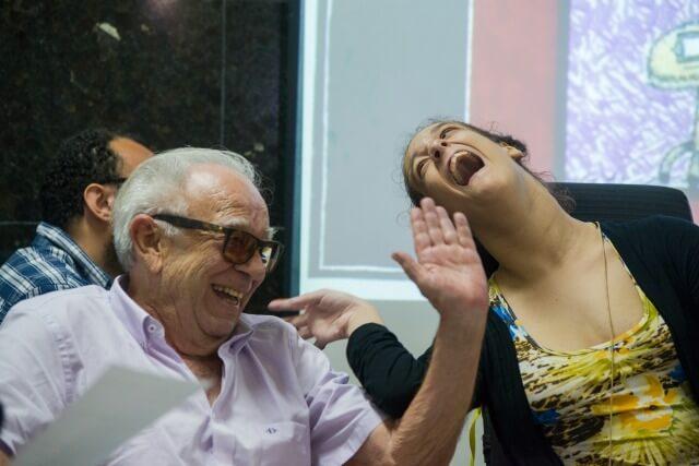 Emiliano Queiroz e Aldenísia Santos / Foto: Davi Pinheiro
