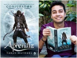 Taran Matharu - minha vida literaria