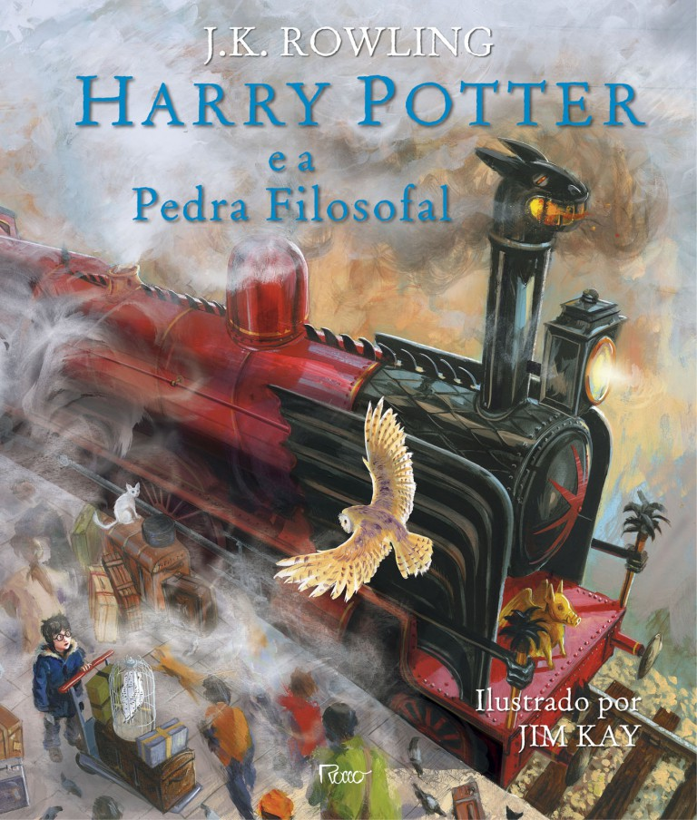 Harry-Potter-ilustrado - minha vida literaria