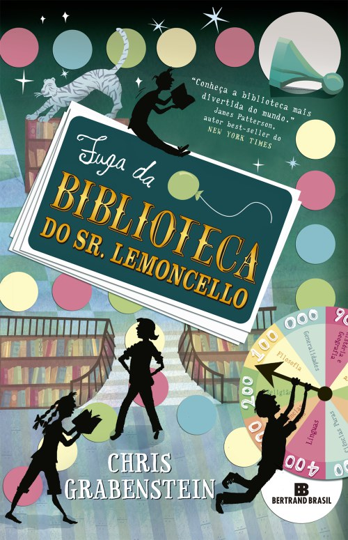 Fuga da Biblioteca do Sr. Lemoncello – Chris Grabenstein