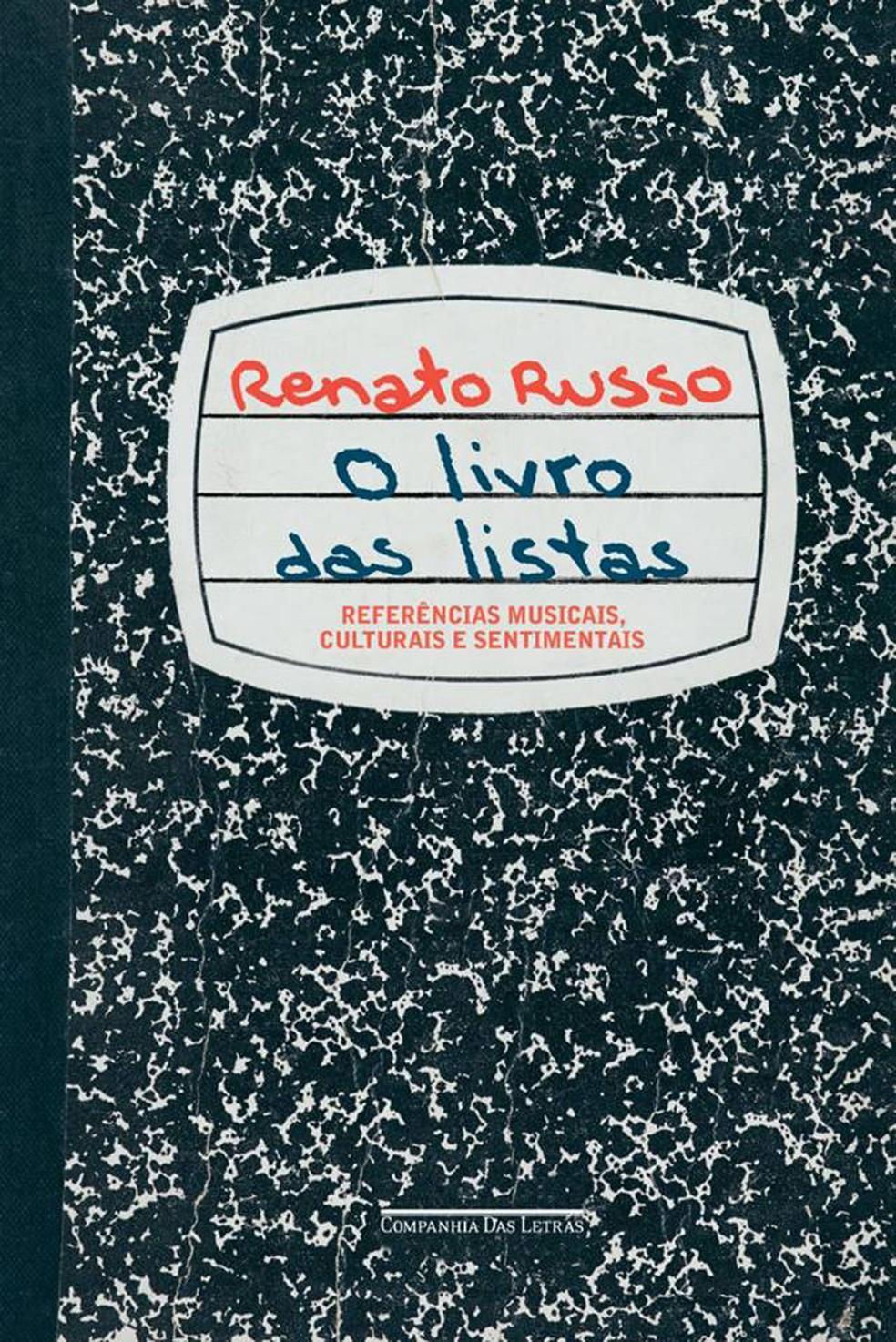 O Livro das Listas – Renato Russo